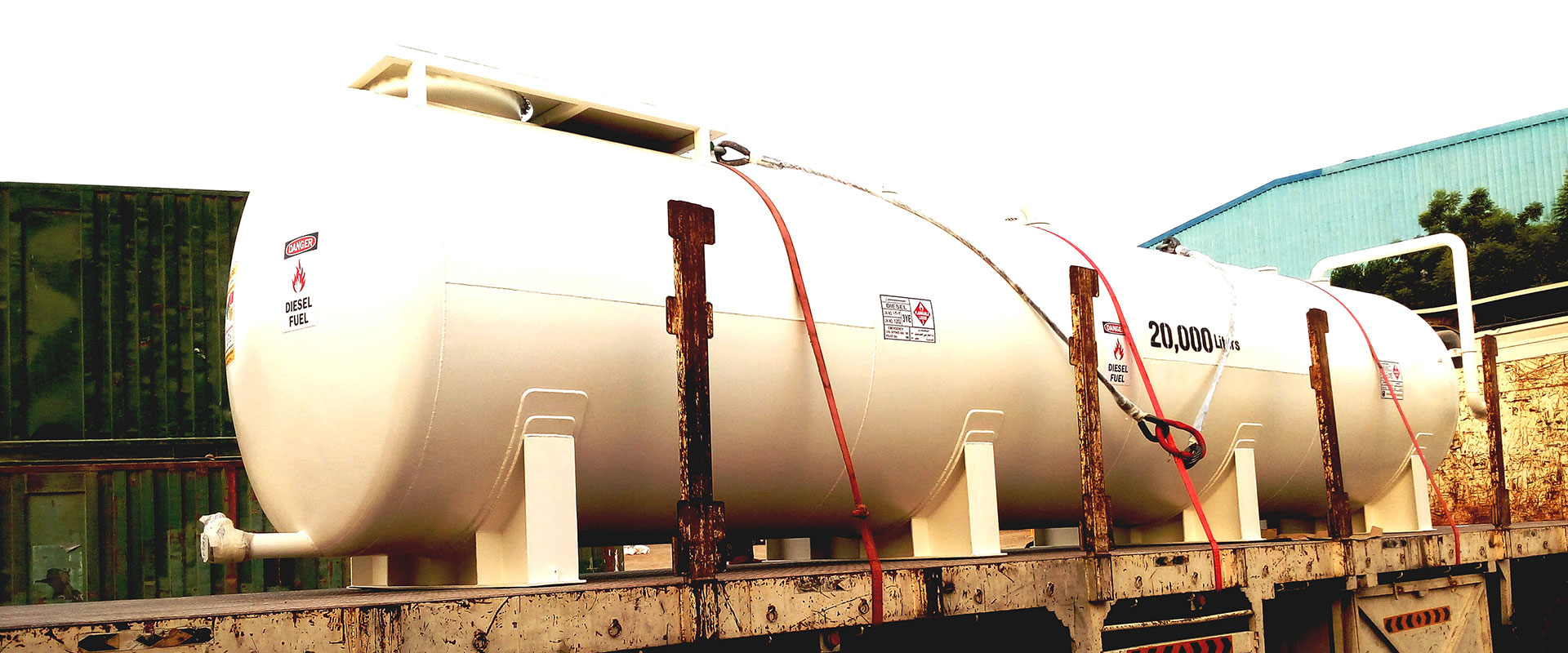 Diesel storage tanks manufacturer in UAE